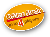 Offline mode up to 4 players