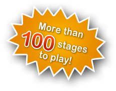 More than 100 stages to play!