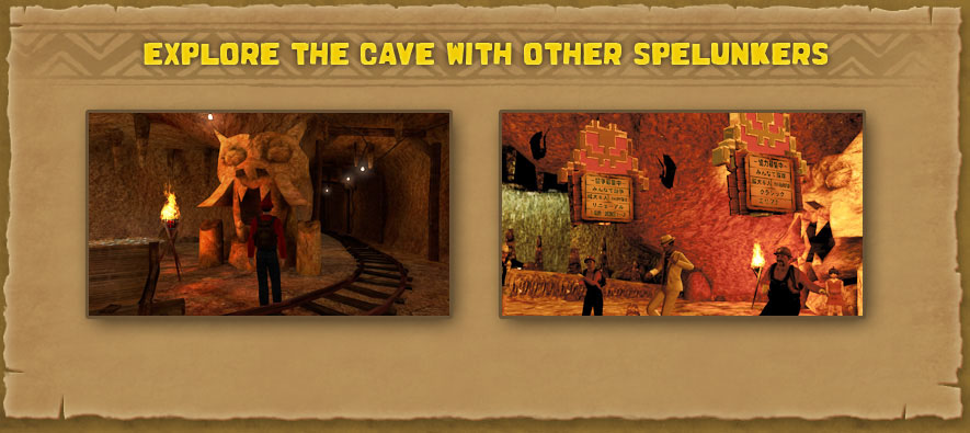 Explore the cave with other Spelunkers