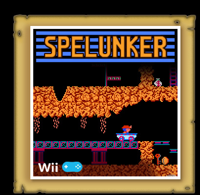 Spelunker Virtual Console